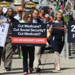 Where does Medicaid stand in the height of the Fiscal Cliff?