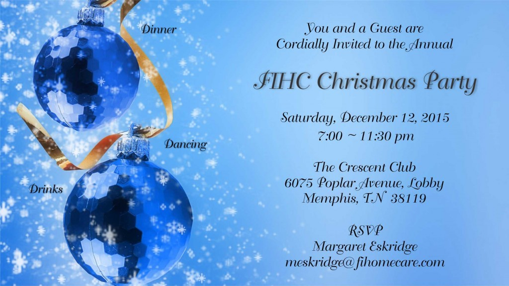 christmas invite 2015 functional independence home care home